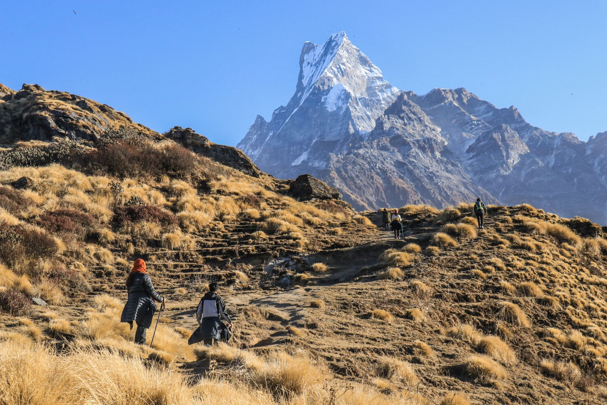 annapurna circuit trek nepal by mountain people