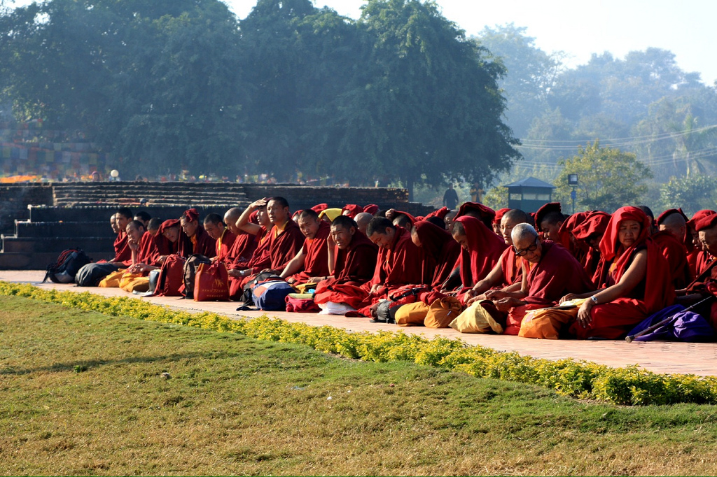 Lumbini, Nepal by Robert J.